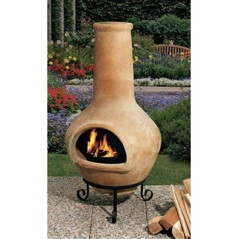 Available in stock & custom sizes & styles. I have this chiminea. Now if only I can get the background to look like this garden! | Chimeneas ...