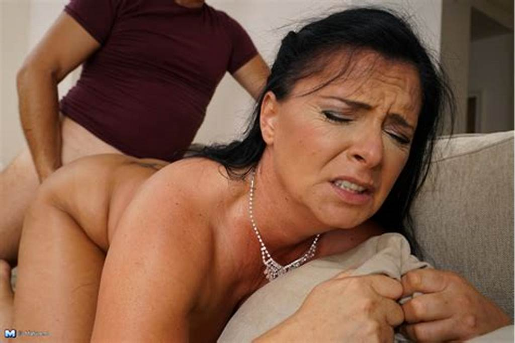 #Naughty #Mature #Lady #Fucking #In #Her #Living #Room