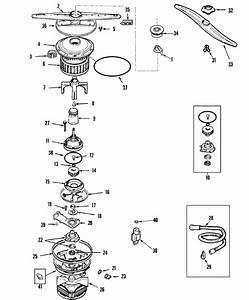 Maytag Model Mdb7100aww Dishwasher Genuine Parts