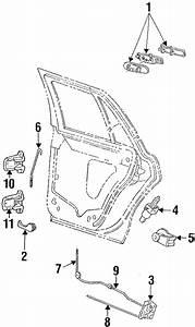 Mercury Grand Marquis Door Lock Actuator Motor  Rear
