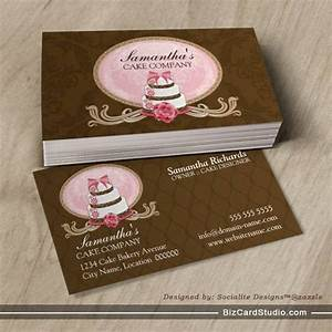 Cake baking business cards gallery card design and card for Baking business card ideas