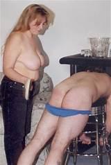 Women spanking men mature