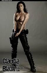 Claudia black nude photo