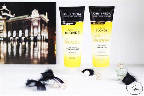 Mana pasaku pasaule: John Frieda Sheer Blonde Go Blonder ...