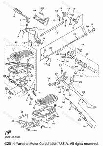 Yamaha Motorcycle 2009 Oem Parts Diagram For Stand