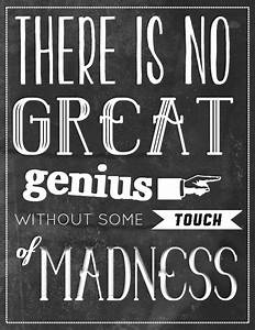 great madness |... Madness And Brilliance Quotes