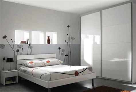 couleur de chambre adulte décoration chambre adulte couleur gris