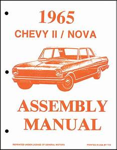 1965 Chevrolet Chevy Ii Nova Parts