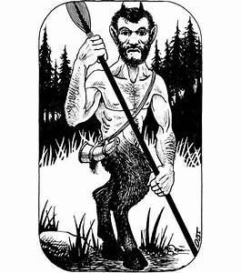 Old School Frp  U2014 Satyr By Dave Trampier  From Both The Ad