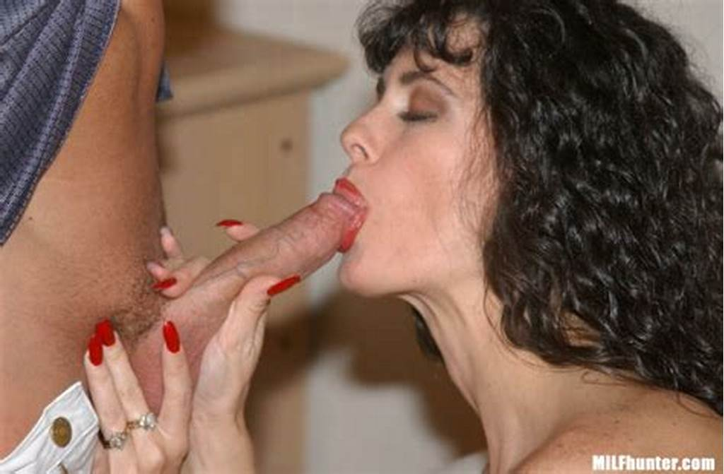 #Brunette #Milf #With #Curly #Hair #And #Fake #Tits #Gets #Pounded