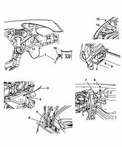 2007 Chrysler Pt Cruiser Ground Straps-engine