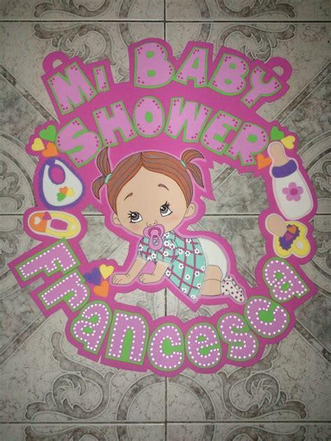 Como hacer letrero de baby shower Imagui