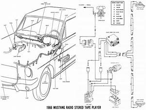 1966 Ford Mustang Fuse Box Diagram
