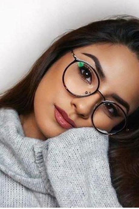 Unisex full frame mixed material eyeglasses Fotos con