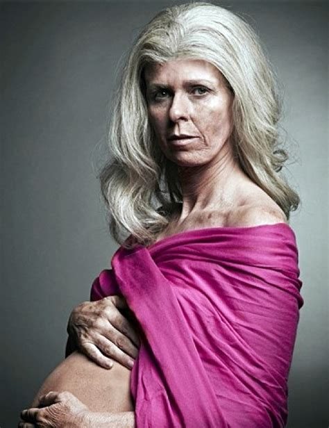 70 And Pregnant Fertility Campaign Stirs Ire Todaycom