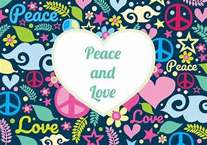 Love And Peace : peace and love background download free vectors clipart ~ A.2002-acura-tl-radio.info Haus und Dekorationen