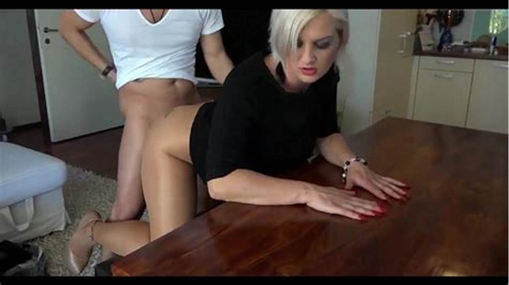 #Pantyhose #Milf #Doggy #Fucking #High #Heels #Red #Nails #Porn #E7