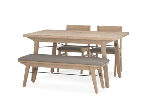 Here are the 10 best what to consider when buying an extendable dining table in singapore. Miles Extendable Dining Table with Bench and 2 Chairs   Castlery Singapore