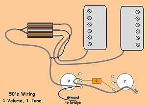 2 Pu 1 Volume 1 Tone 3 Way 50 U0026 39 S Wiring