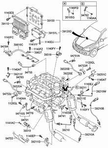 2008 Kia Sorento Electronic Control