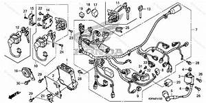 Honda Scooter 2011 Oem Parts Diagram For Wire Harness