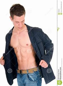 Attractive Body Builder Royalty Free Stock Photo