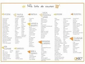 Liste De Courses À Imprimer Gratuitement : petit cadeau pingler sur votre frigo votre liste de ~ Nature-et-papiers.com Idées de Décoration