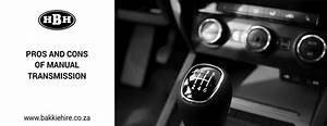 Pros And Cons Of Manual Transmission
