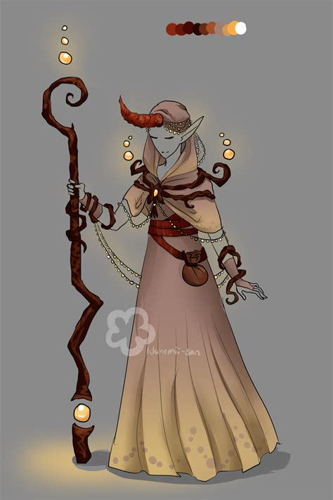 Fantasy Mage Outfit - sold by Nahemii-san on DeviantArt
