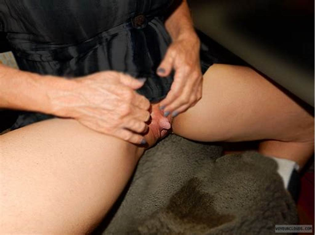 #Shaved #Pussy #With #Big #Clit