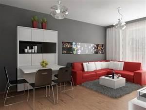 Graue Wandfarbe Wohnzimmer : wandfarbe grau ist der neue trend in der zimmergestaltung ~ Markanthonyermac.com Haus und Dekorationen