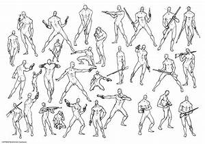 Figure Drawing Poses Male At Getdrawings Com