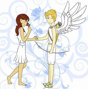 Cupid and Psyche -finished- by crystallinepeace on DeviantArt