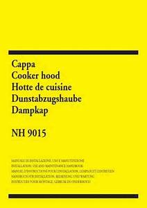 Zanussi Nh 9015 X Cooker Hood Download Manual For Free Now