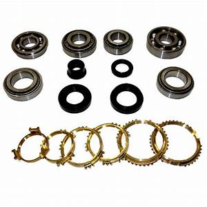 Rs5f50a Transmission Bearing  Seal Kit W  Synchro Rings 1990