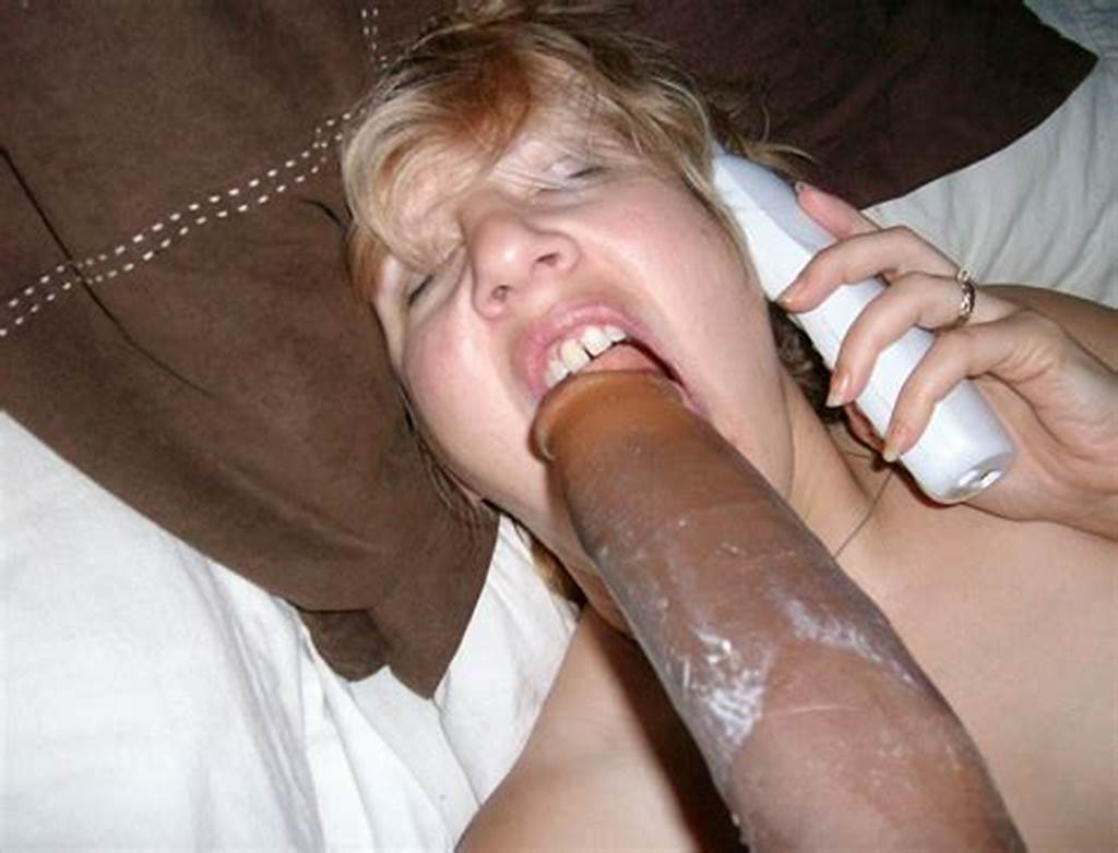 #White #Wife #With #Black #Dildos #Arsenal