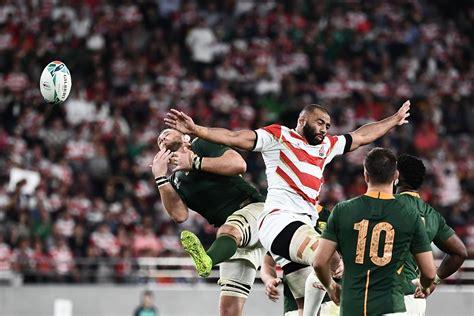 Dienvidāfrikas regbija izlase sarūgtina Japānu; Velsa ...