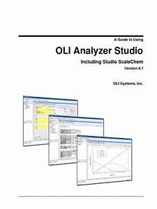 Oli Analyzer Studio 9 1 User Guide