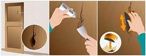 Pate A Bois Comment L Utiliser : r parer un trou dans une porte porte ~ Dailycaller-alerts.com Idées de Décoration