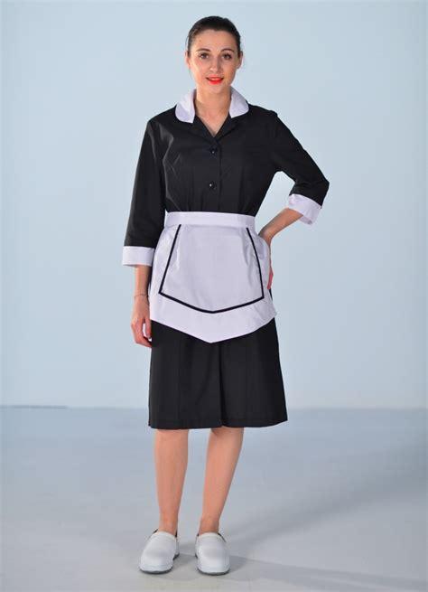 tenue de femme de chambre blouse femme de chambre carlton hotellerie service