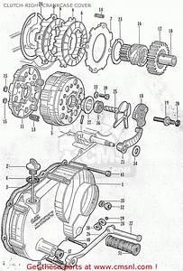 Honda C105 Worldwide Except Usa Clutch