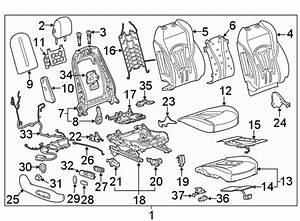 Buick Lacrosse Power Seat Wiring Harness  W  Heated  W