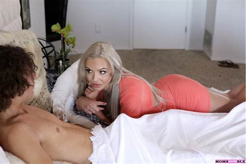 #Nina #Elle #Joins #Her #Stepson #And #His #Girlfriend #For #A #Fauxcest #Threesome
