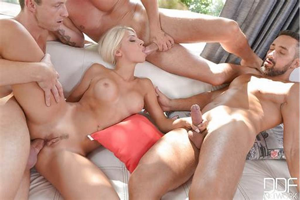 #Beautiful #Blonde #Babe #Chloue #Lacourt #Taking #Anal #Creampie