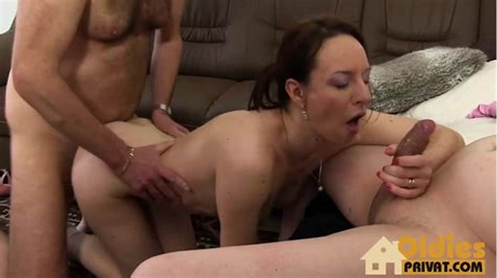 #Lusty #German #Milf #Has #Sex #With #Two #Men
