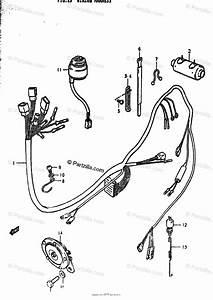 Suzuki Motorcycle 1979 Oem Parts Diagram For Wiring