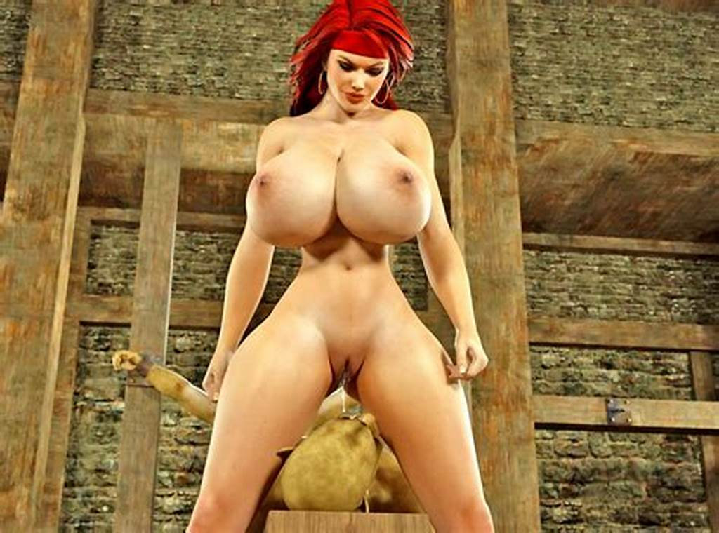 #Naughty #Redhead #Busty #Chick #Fucking #Tied #Horny #Monsters