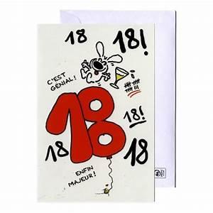 Cadeau Femme 18 Ans : carte d 39 anniversaire 18 ans show lapin cadeau maestro ~ Teatrodelosmanantiales.com Idées de Décoration