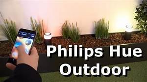Philips Led Leuchten : philips hue outdoor led leuchten f r den aussenbereich youtube ~ Watch28wear.com Haus und Dekorationen