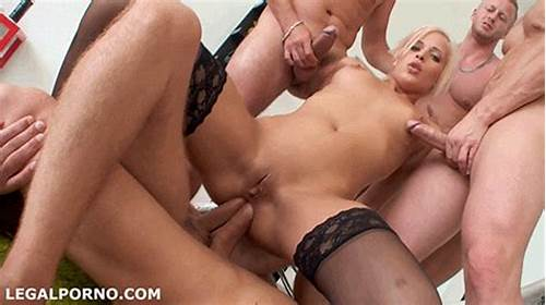 Mmf Model Gangbanged By Couple Guys That Fill All Her Holes #Blonde #Gets #Fucked #In #Gangbang #4676